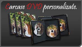 Carcase DVD personalizate cu fotografia dumneavoastra