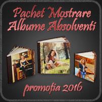 Oferta Mostrare Albume Absolventi