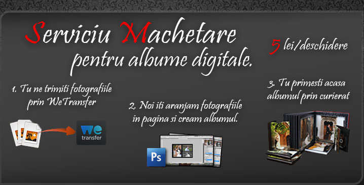 Machetare albume digitale
